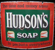 Hudson's Soap advertisement