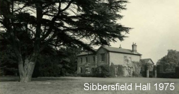 Sibbersfield Hall in 1975